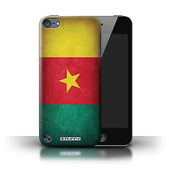 STUFF4 sag/Cover for Apple iPod Touch 5/Cameroun/camerounske/flag
