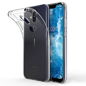Case CoolSkin3T til Nokia 8,1 Transparent hvid