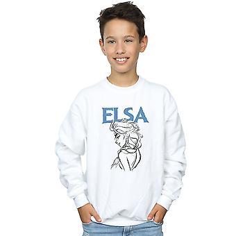 Disney jongens bevroren Elsa profielschets Sweatshirt