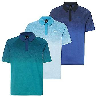 Oakley Mens Four Jack Gradient Golf Consealed Button Polo Shirt