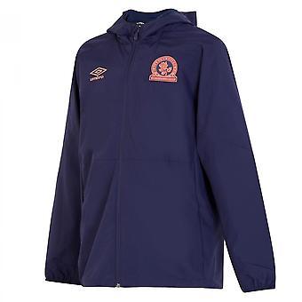 2019-2020 Blackburn Umbro Shower Jacket (Blue)