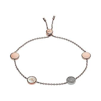 Emporio Armani Women's bracelet in stainless steel with Cubic Zirconia and Mother of Pearl EGS2308221