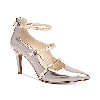 Alfani Womens Siennah Pointed Toe Ankle Strap Classic Pumps