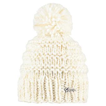 Barts Ladies Jasmin Chunky Acrylic Polyester Winter Beanie Hat White