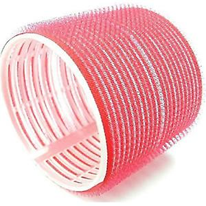 Hair Tools Cling Hair Rollers - Jumbo Red 70mm (6)