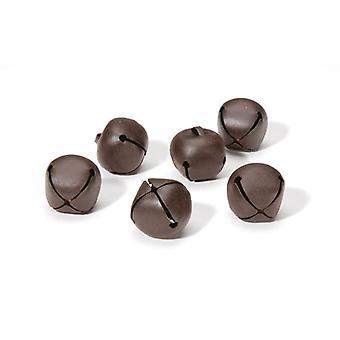 6 Rusty 25mm Jingle Bells for Crafts | Craft Bells | Arts & Crafts