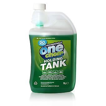 Holding Tank Treatment Concentrated Formula - 1 Litre - Boats, RVs, Barges etc