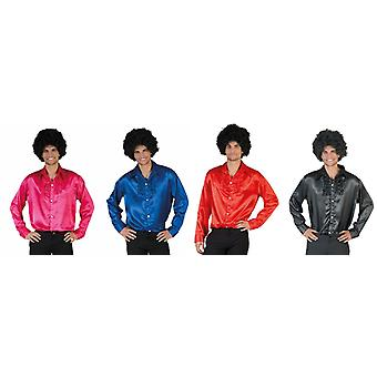 70s Disco 70ies DancerMen's Costume Hit Star Basic Shirt Costume Homme