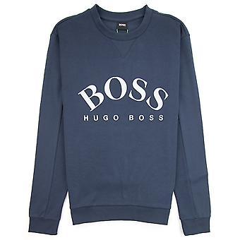 Hugo Boss buet logo Salbo sweatshirt Navy