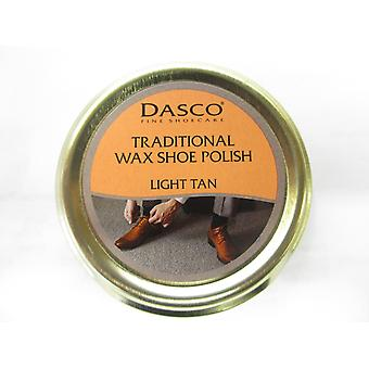 Dasco Traditional Wax Shoe Polish 50ml Tin