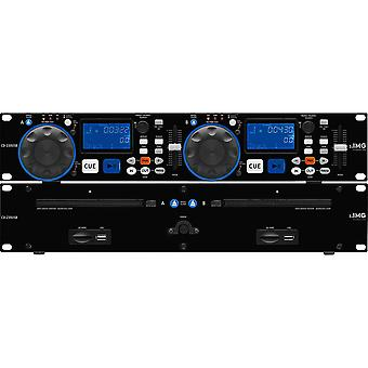IMG Stageline Img Stageline Cd-230usb Dual Cd Player mit Usb