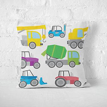 Meesoz Cushion Cover - Tractors And Cranes