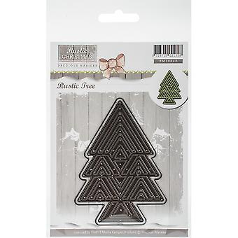Vind het handelen kostbare Marieke sterven-boom, rustieke kerst