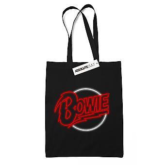 ديفيد باوي نيون شعار حقيبة حمل