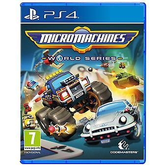 Micro Machines World Series PS4 Game