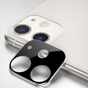 ATB Design Titanium + Tempered Glass Camera Lens Protector iPhone 11 Silver