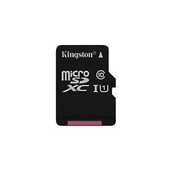 キングストン16GBマイクロSDHC UHS-Iカード+SDアダプタ