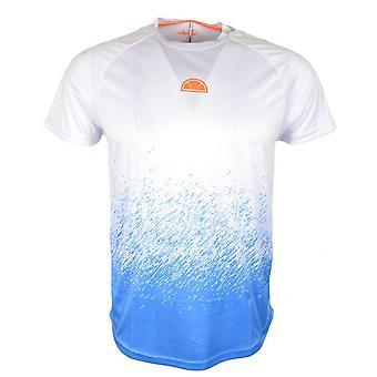 Ellesse Rasco Poly hvit Polyester t-skjorte