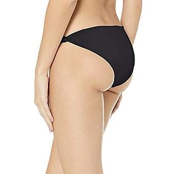Billabong Women's Lowrider Bikini Bottom, Pebble Black, M