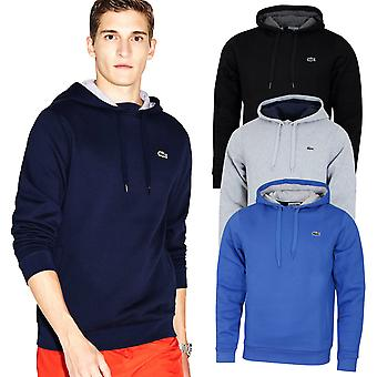 Felpa con cappuccio Lacoste Mens Soft Fleece Tennis Durable Comfort Felpa con cappuccio