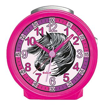 Scout Kids Alarm Alert Friends LUCKY HORSES Pink Girl 280001019