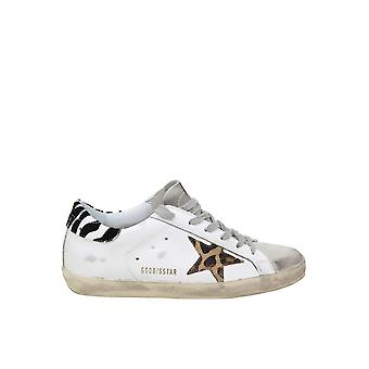 Golden Goose G36ws590t94 Women's White Leather Sneakers