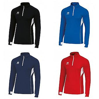 Errea Unisex Fartlek Zip Neck Top