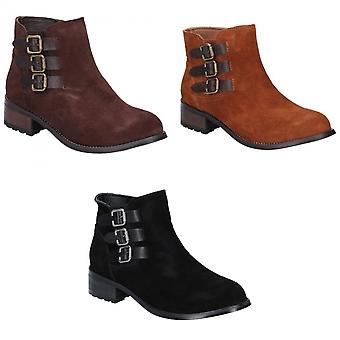 Divaz Womens/Ladies Lexi Slip On Buckle Boot