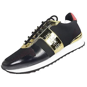 Ed Hardy Mono Runner Metallic Black/gold Trainers