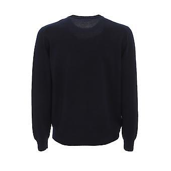 Corneliani 00m5320025185001 Men's Blue Cashmere Sweater