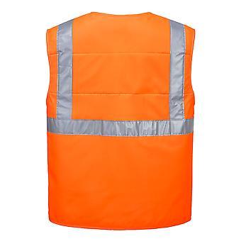 sUw Mens High-Vis Workwear Evaporative Cooling Vest