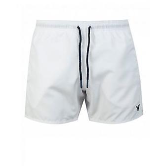 Emporio Armani Swimwear Eagle Logo Swim Shorts