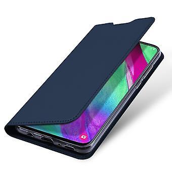 DUX DUCIS Pro Series case Samsung Galaxy A40-Dark Blue