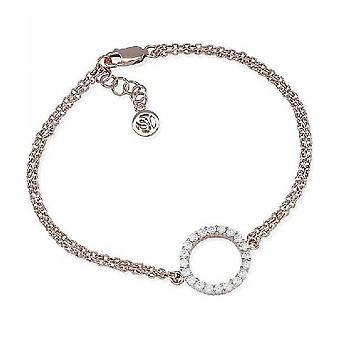 Sif Jakobs Bracelet Biella Grande Silver Collection SJ-B338-1-CZ-RG
