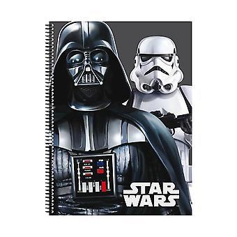 Star Wars, A4 notebook-Darth Vader