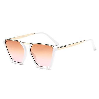 Half Frame zonnebril UV400 roze glas