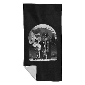 Game Of Thrones Jon Snow King In The North Beach Towel