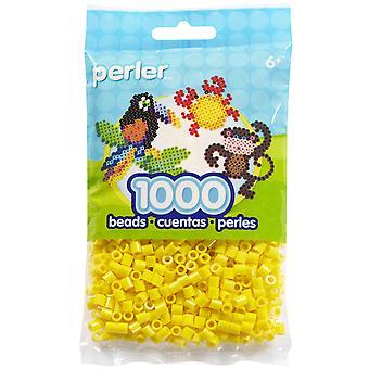 Perler Beads 1,000/Pkg-Yellow