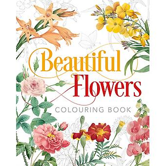 Beautiful Flowers Colouring Book by Peter Gray