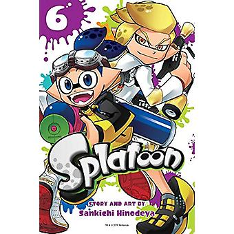 Splatoon - Vol. 6 by Sankichi Hinodeya - 9781974705511 Book