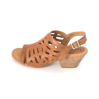 B.O.C Womens Dixie Leather Open Toe Special Occasion Slingback Sandals