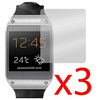 3x Screen Protector Cover Guard voor Samsung Galaxy Gear