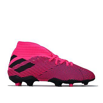 Boy's adidas Junior Nemeziz 19.3 FG Scarpe da calcio in rosa