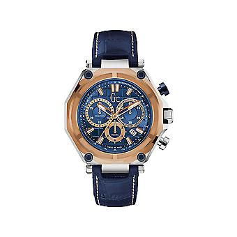 Guess Gc Collection Men's Leather Watch X10002g7s