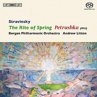 I. Stravinsky - Stravinsky: The Rite of Spring; Petrushka (1911) [SACD] USA import