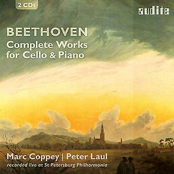 Beethoven / Coppey / Laul - Beethoven / Coppey / Laul: Complete Works for Cello & Piano [CD] USA import