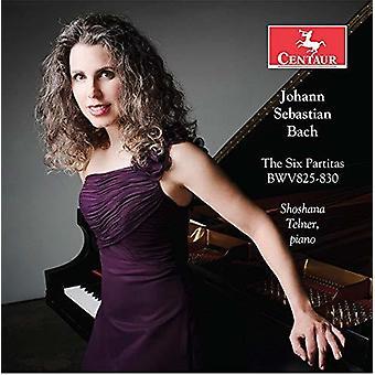 Bach, J.S. / Telner - 6 Partitas Bwv [CD] USA import