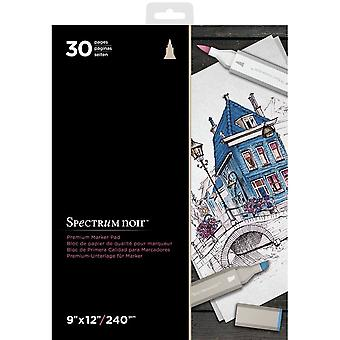 Spectrum Noir Spectrum Noir 9x12 Inch Premium Marker Paper Pad
