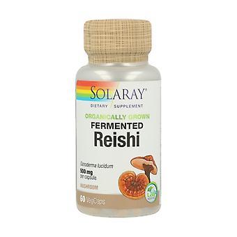 Fermented Reishi 60 vegetable capsules of 500mg