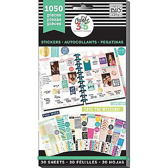Happy Planner Sticker Value Pack-This Colorful Life - Klassiek, 1050/Pkg